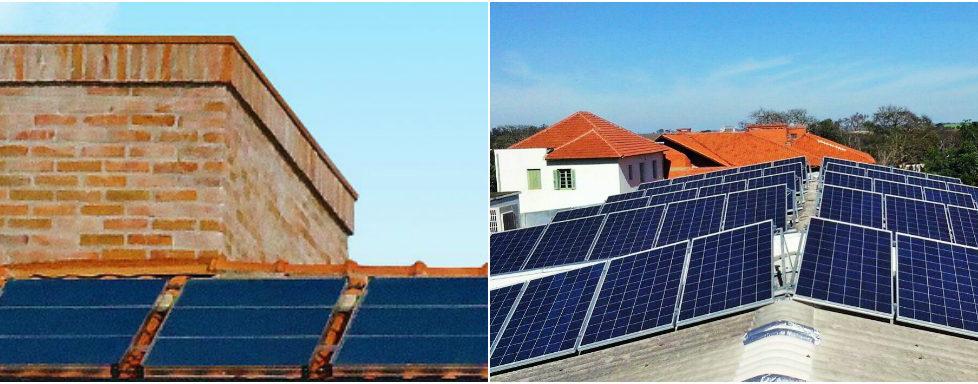 Energia solar fotovoltaica e energia solar para aquecimento: qual é a diferença?
